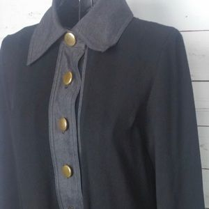 Large button tunic